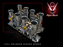 8-stack V8 Throttle Body Kits