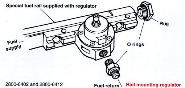 fuel pressure regulators installation guide